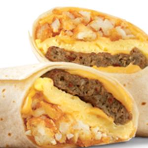 Sausage Egg & Cheese (Wrap)